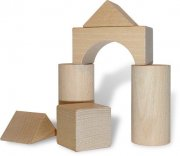 drewniane klocki